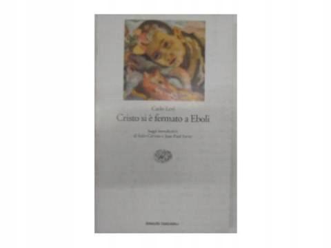 Cristo si fermato a Eboli - C.Levi