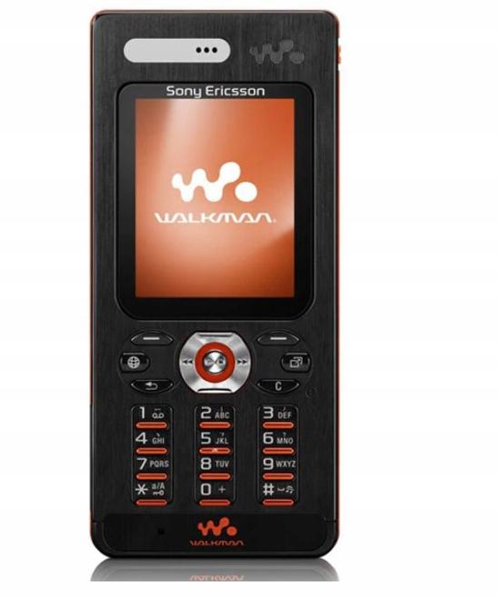 ORYGINALNY Sony Ericsson W880i RETRO KLASYK CZARNY