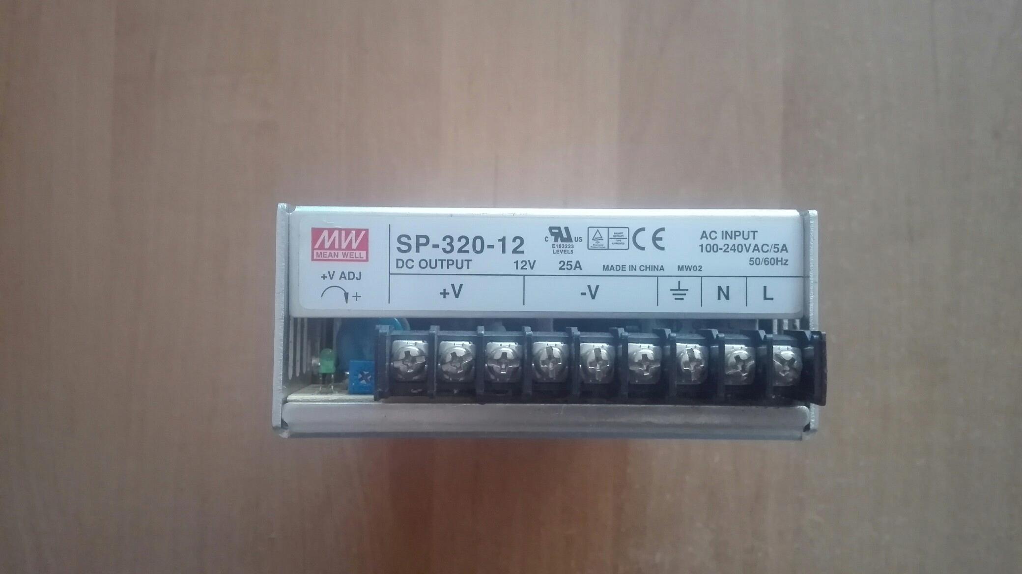 Zasilacz MEAN WELL SP-320-12