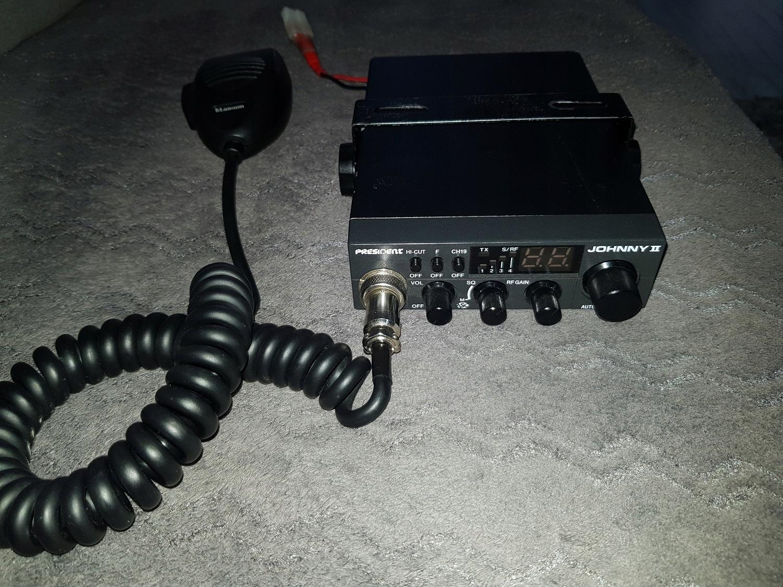 Sprzedam CB Radio President Johnny II z anteną