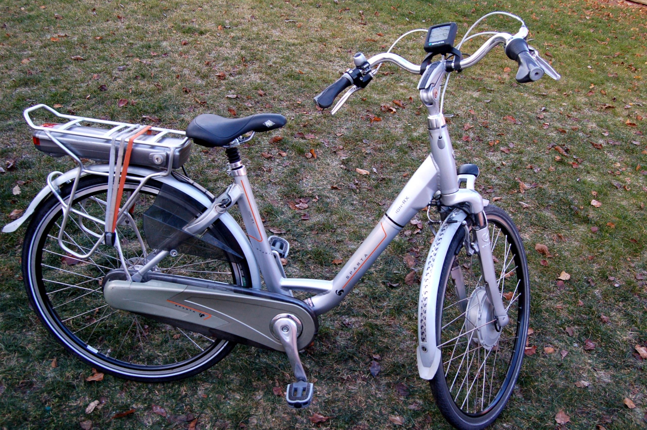 Rower elektryczny Sparta ion RX piękny odblokowany