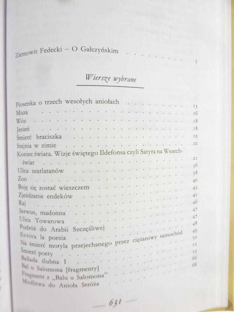 Wiersze Na Polskich Obłokach Gałczyński 7758509719