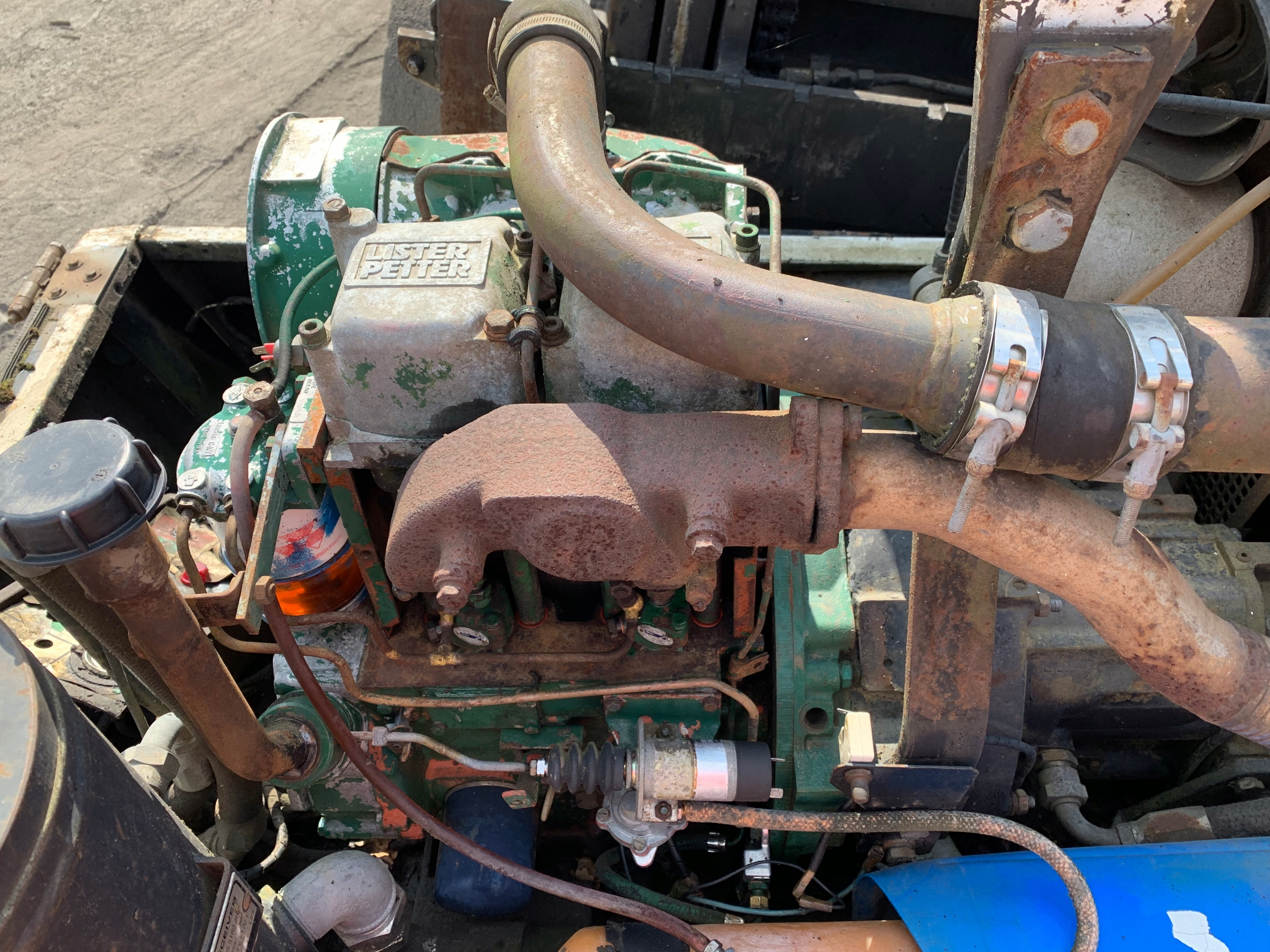 Silnik diesel Lister Petter 2 cylidrowy 1314h