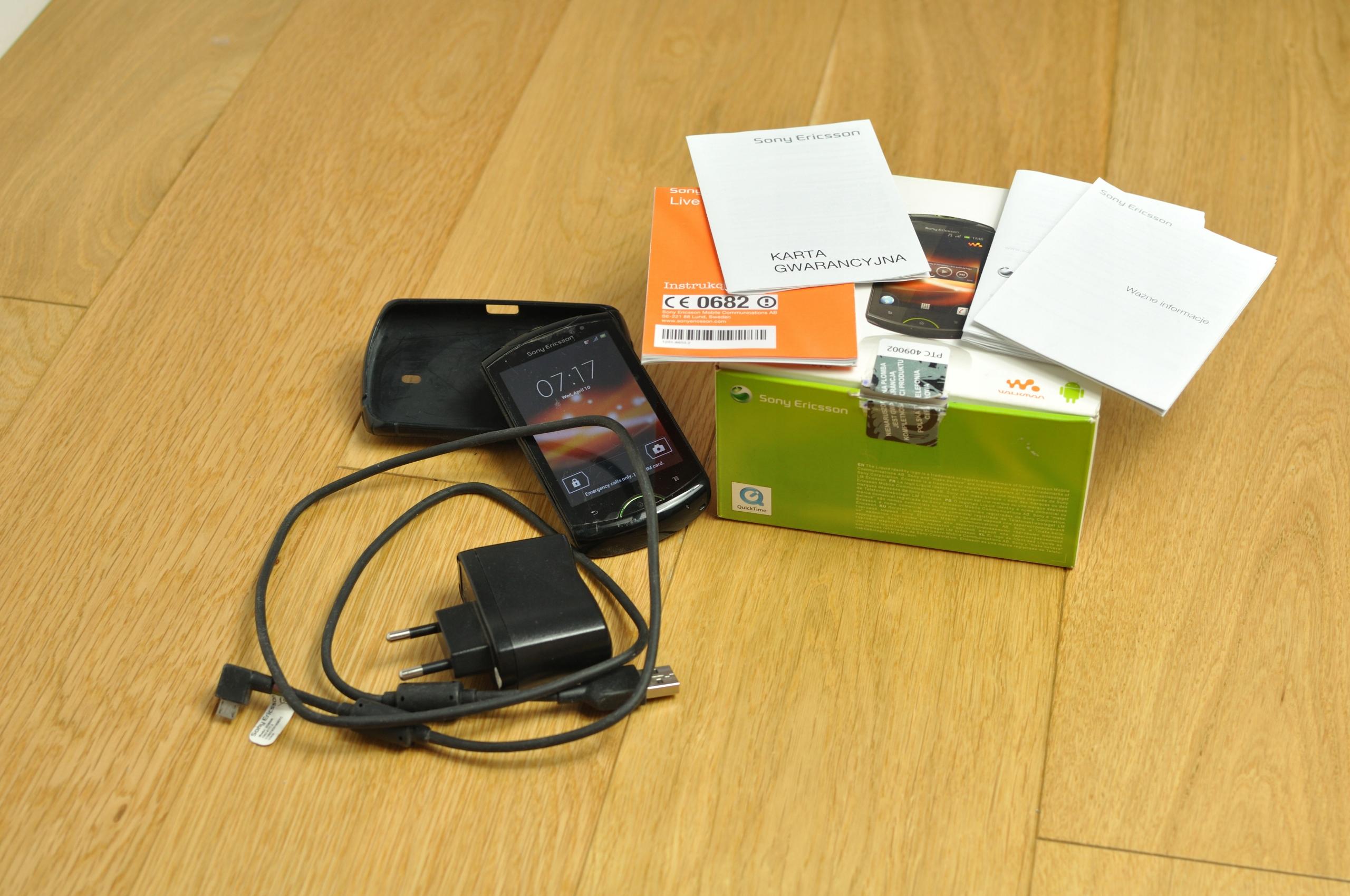 Sony Ericsson Walkman WT19i + GRATIS
