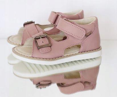 MRUGAŁA sandały sandałki ROMA rosa r. 26