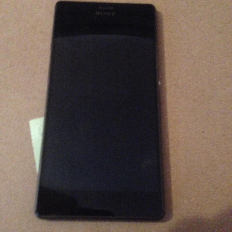 Sony Xperia Z3 Ekran Rama LCD Uszk Oryg