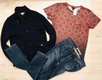 Zestaw ubrań męskich 23 szt Zara Gaudi M