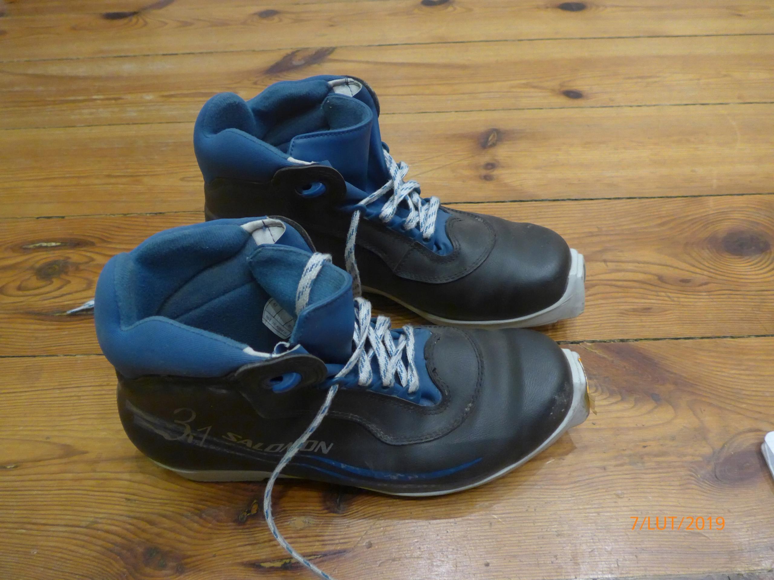 Buty do biegówek SALOMON 3.1 rozmiar 43