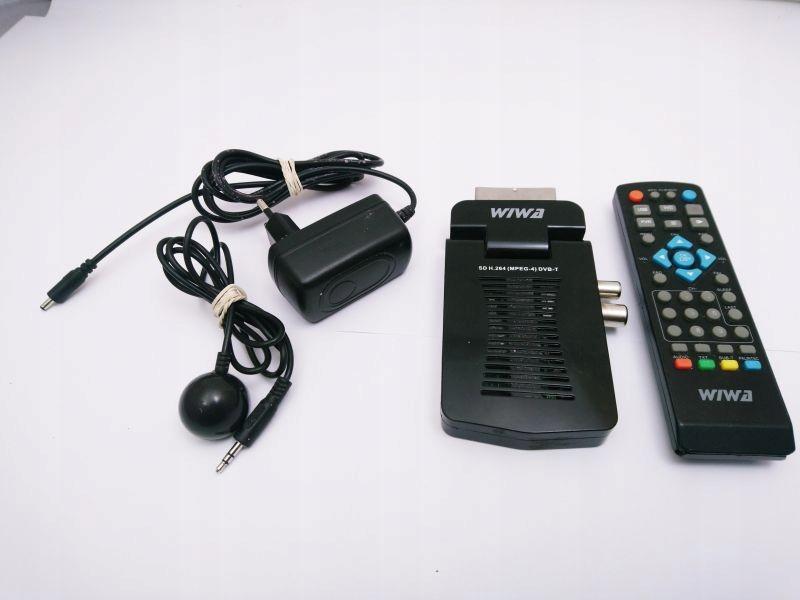 WIWA SD-308 DEKODER DVB-T MPEG-4 H.264 / PILOT