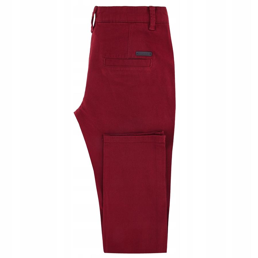 Czerwone spodnie bawełniane Giacomo Conti 188/102