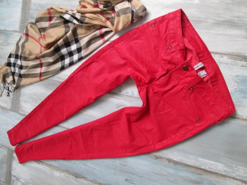 MANGO__SKINNY WOSKOWANE rurki jeans____42 XL
