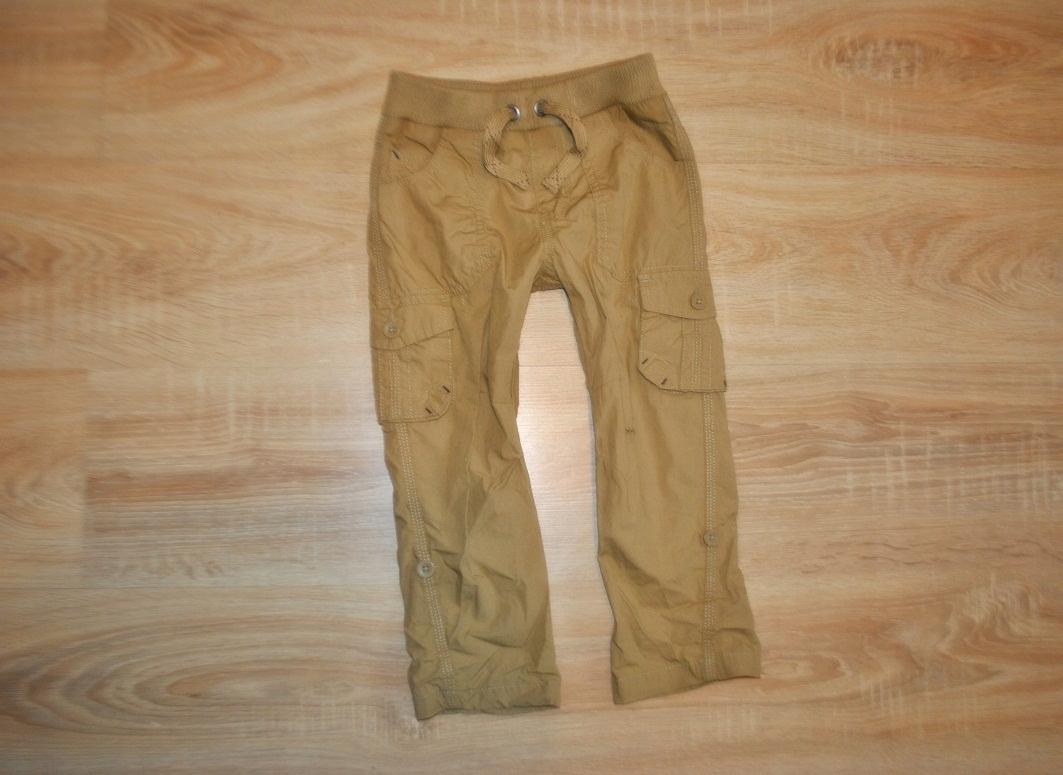 GEORGE świetne spodnie GUMA 98-104 JAK NOWE