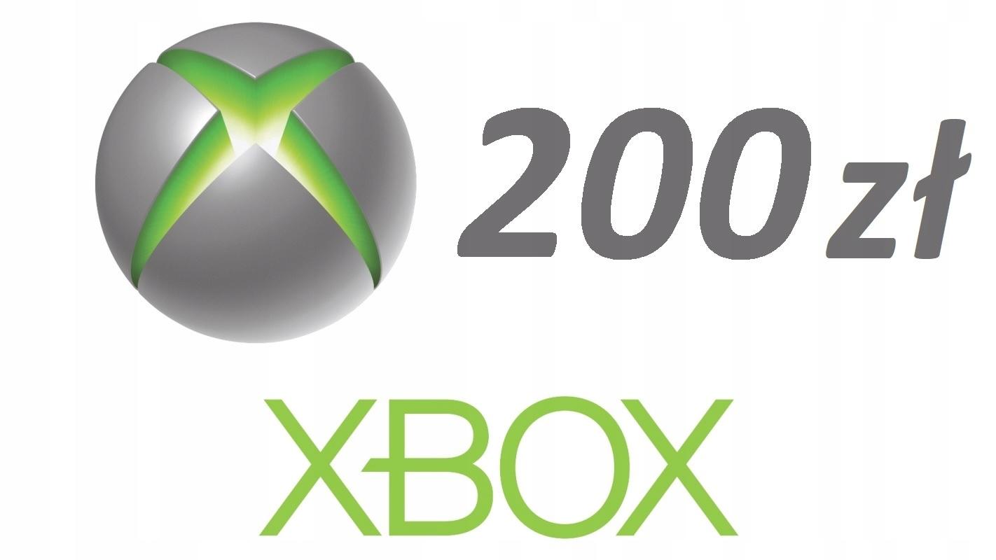 Karta Xbox 200 zł Microsoft Store One/360/PC