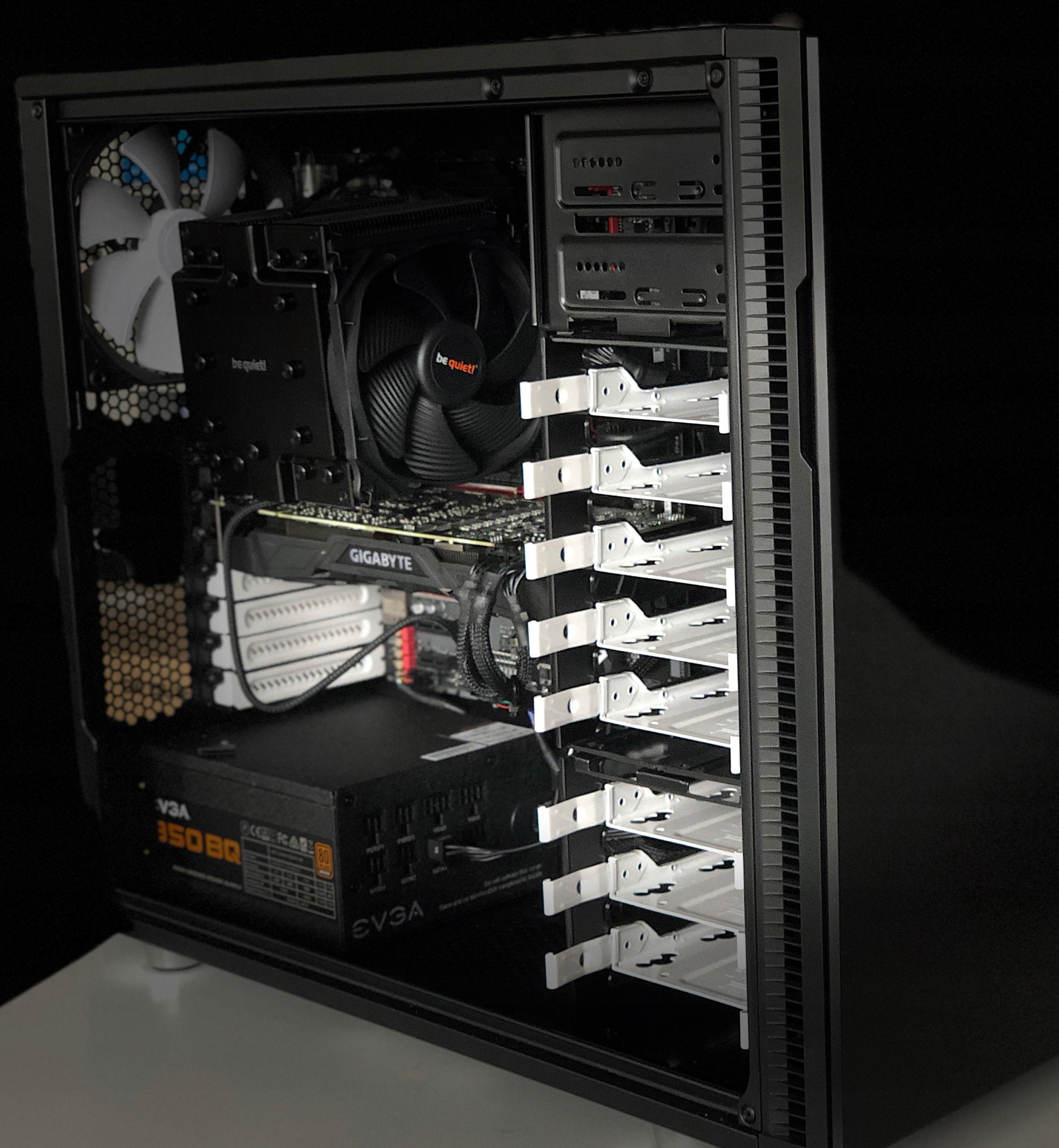 2019 HACKINTOSH H-Mac Pro i9 8x5Ghz NVIDIA GTX1080