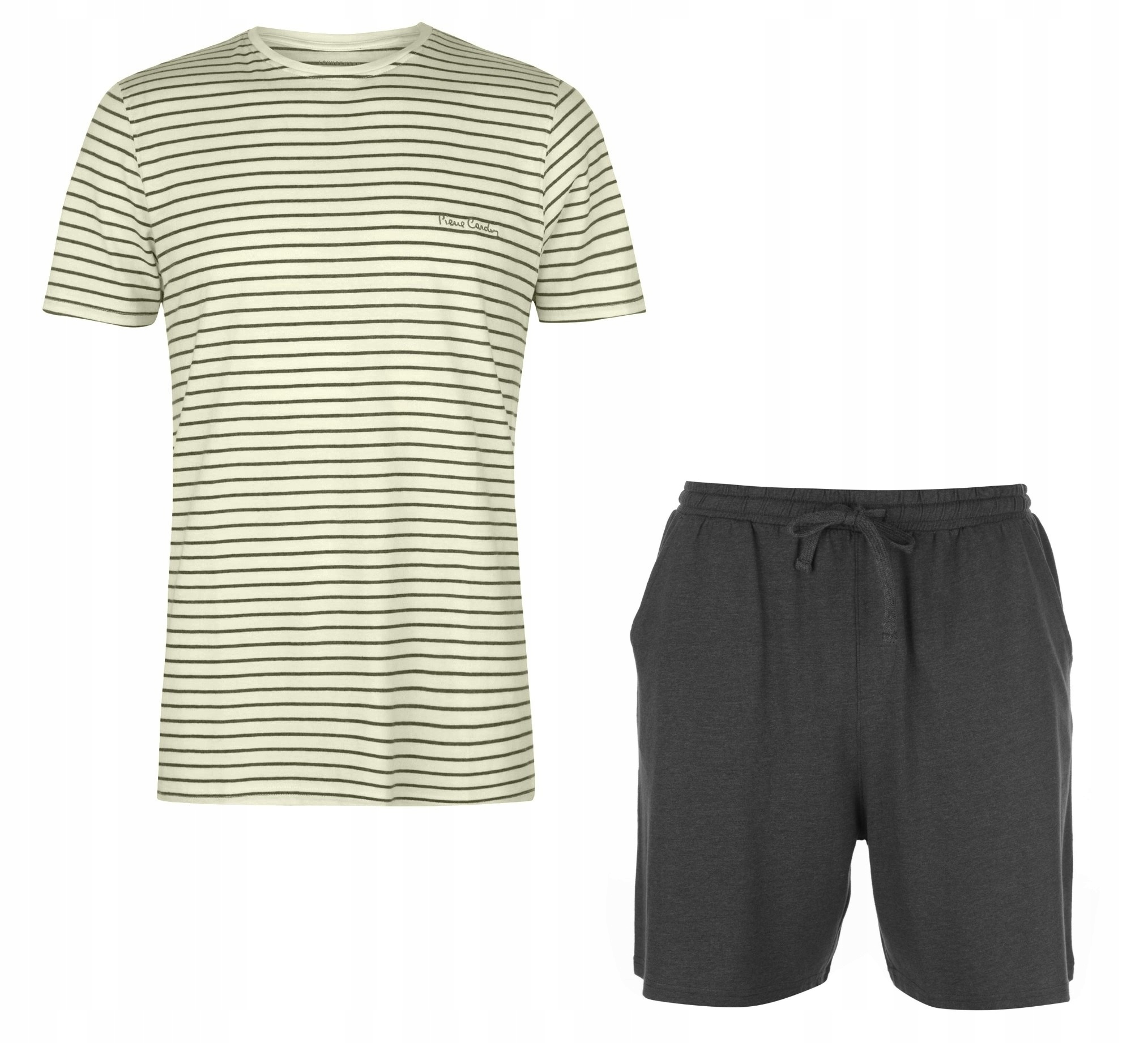 Piżama PIERRE CARDIN bokserki + koszulka M 78-92cm