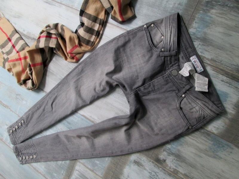 TESINI__ SKINNY jeans rurki STRETCH__36 S