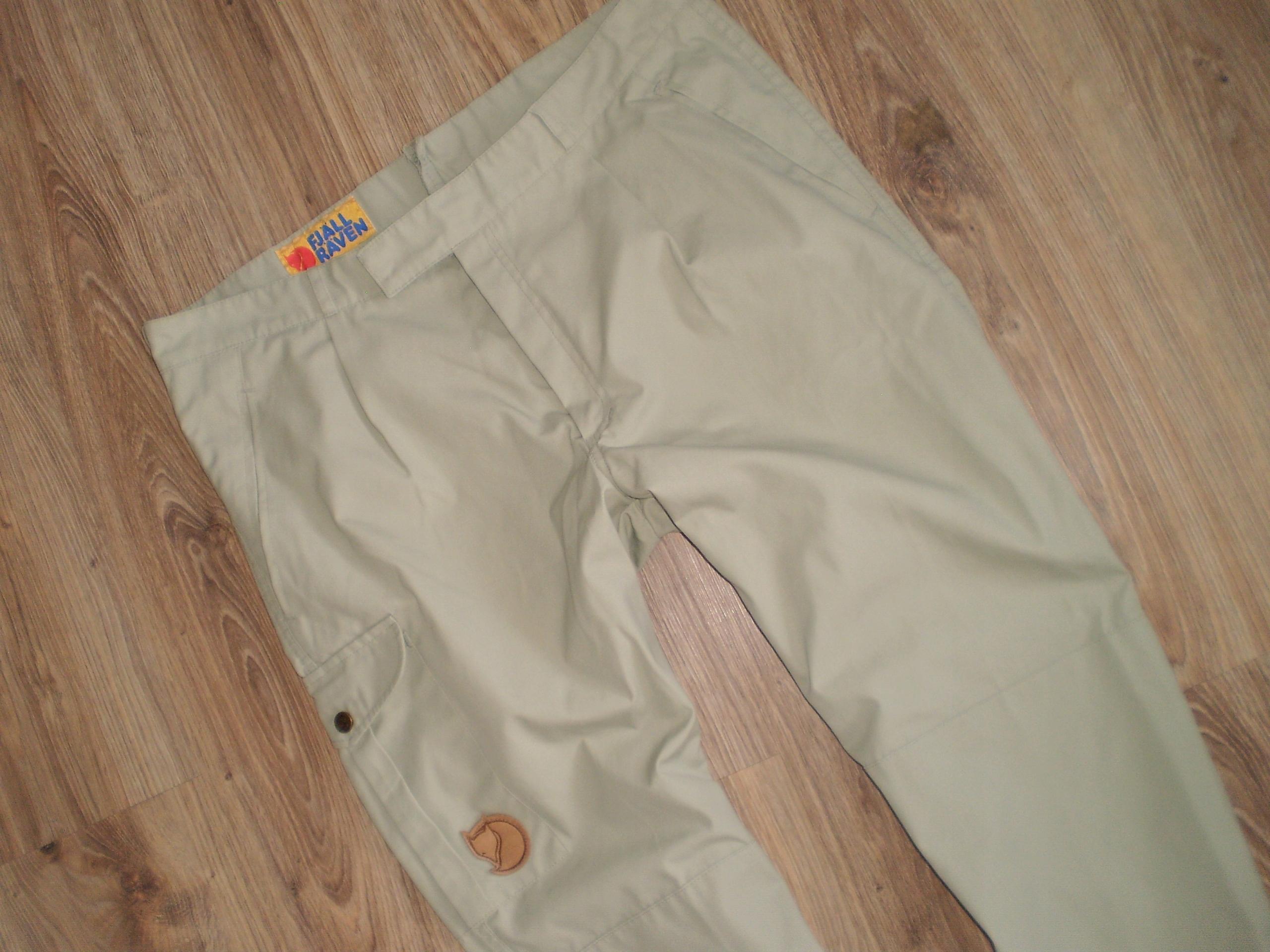 FJALLRAVEN spodnie letnie roz 54 pas 96
