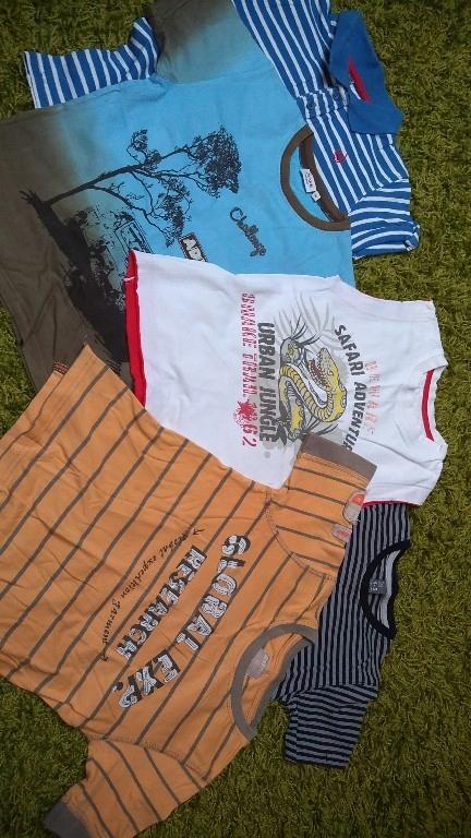 Zestaw koszulek ZARA 122cm 7-8 lat