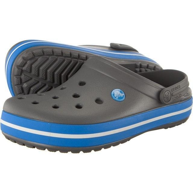 Klapki Damskie Crocs Crocband szare M5 37/38