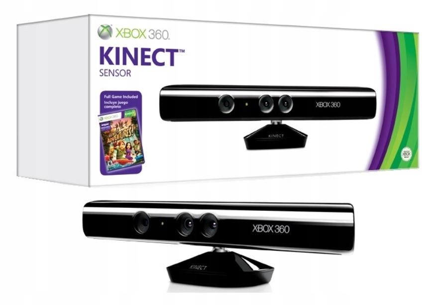 Sensor Kinect + PUDEŁKO 100% SPRAWNY Xbox 360 X360
