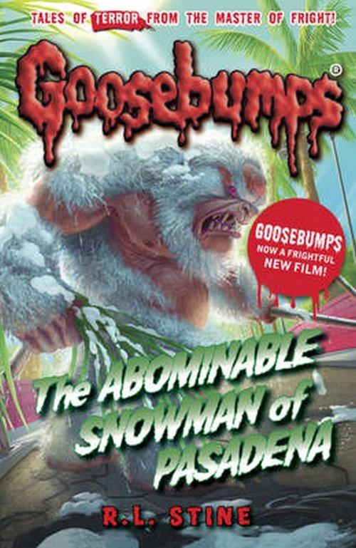 R. L. Stine Goosebumps: The Abominable Snowman of