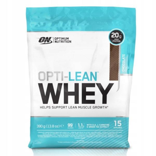 Optimum Nutrition Opti-Lean Whey - 390g czekolada
