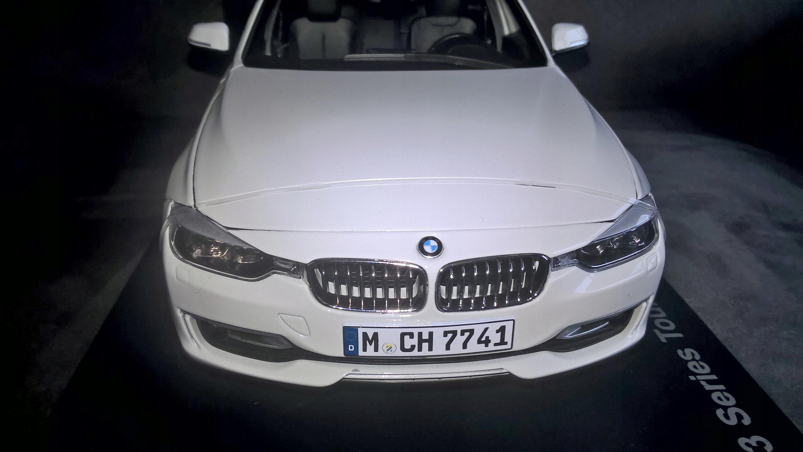 BMW 3 Touring - oryginał - 1/18 - nowy - łódzkie