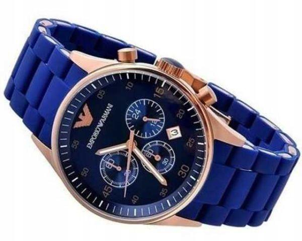 Zegarek Armani Niebieski
