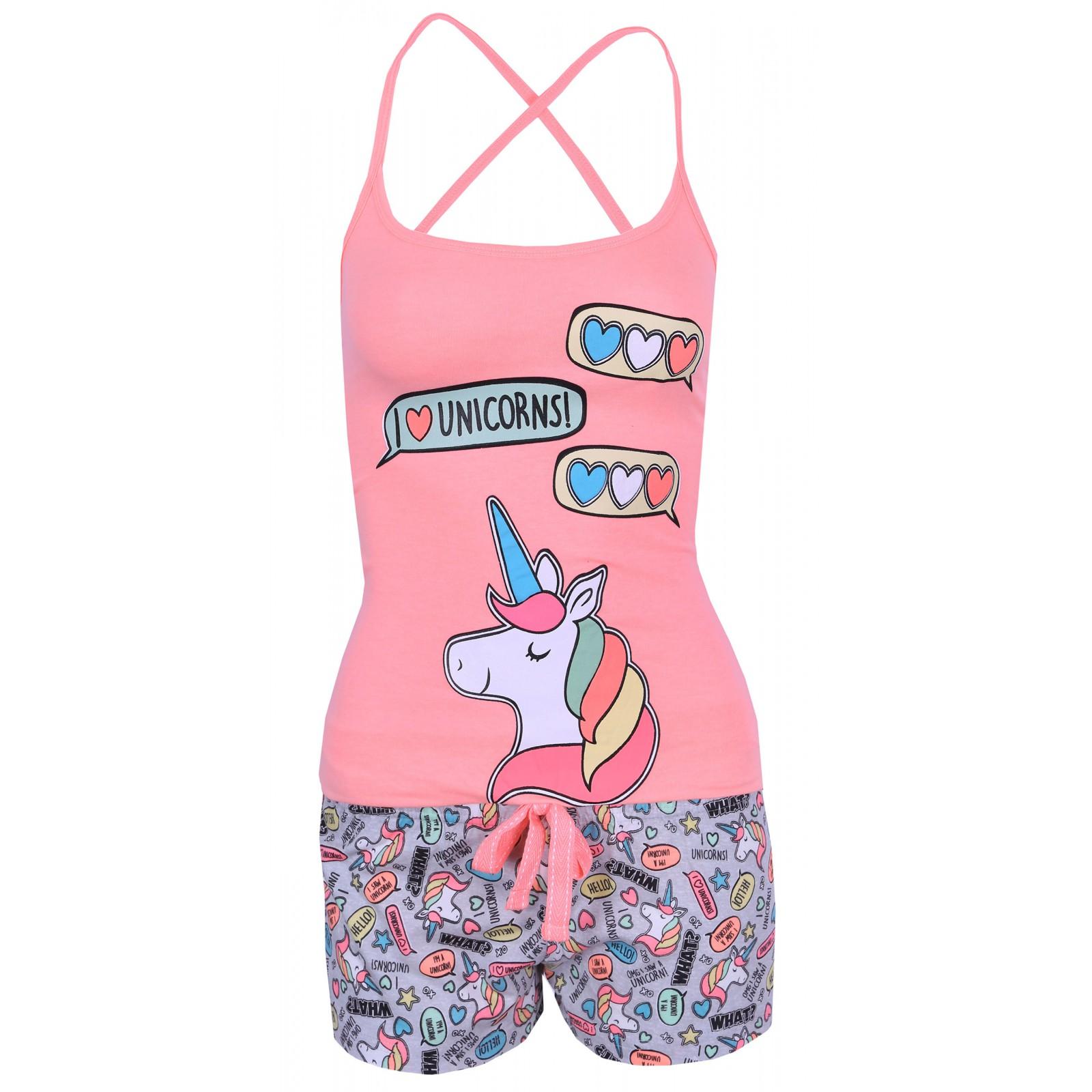 Neonowo-szara piżama w jednorożce PRIMARK 42-44