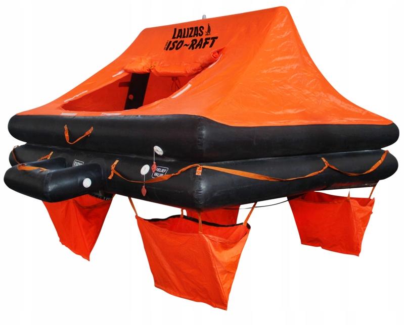 Tratwa ratunkowa 6-osobowa certyfikowana w walizce