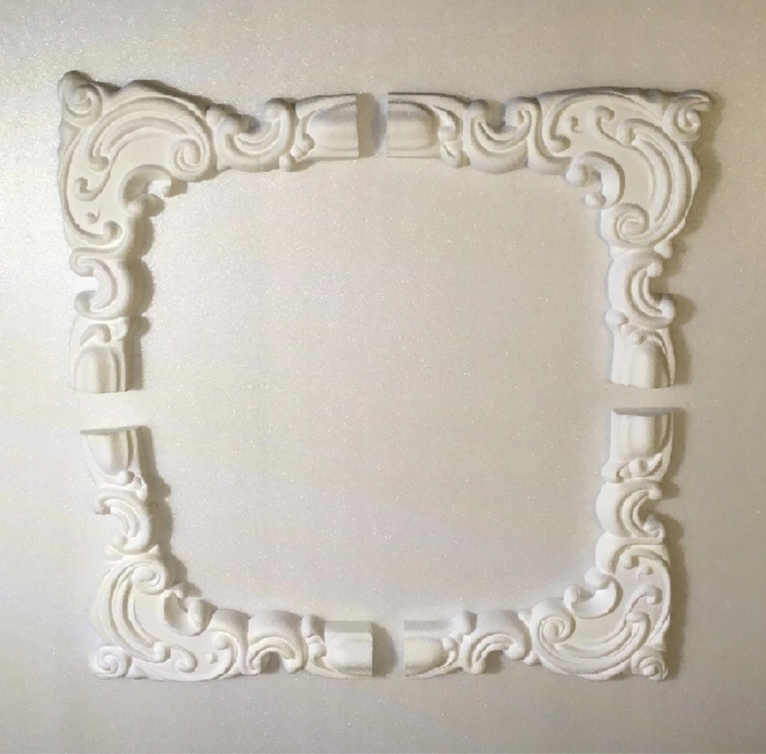 narożniki dekoracyjne sztukateria cena za 4szt 3D