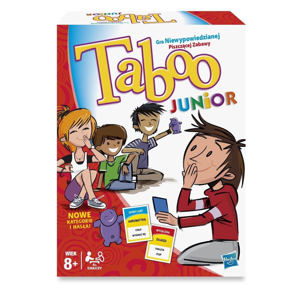 HASBRO GRA TABOO JUNIOR 8+