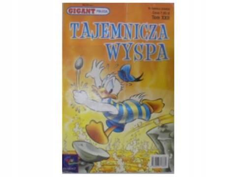 Gigant poleca. Komiks. tajemnicza wyspa - 2002