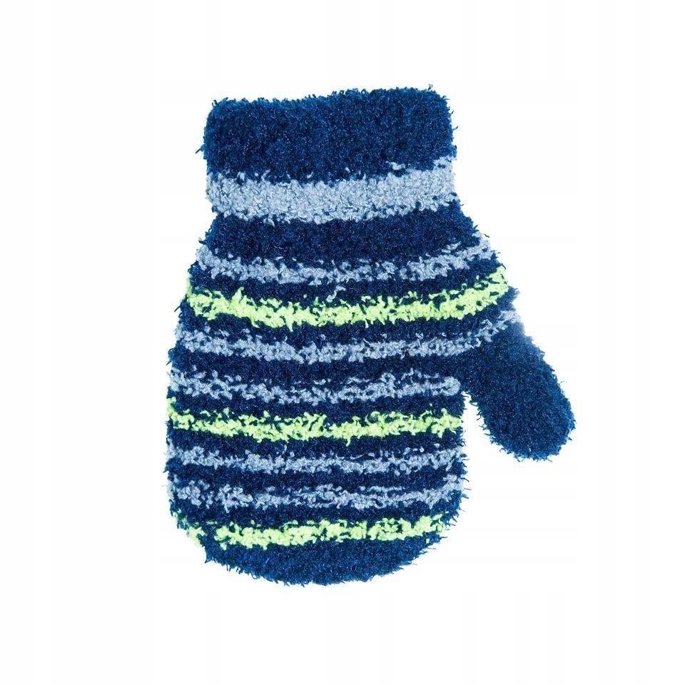 Rękawiczki frotte w paski 12 cm