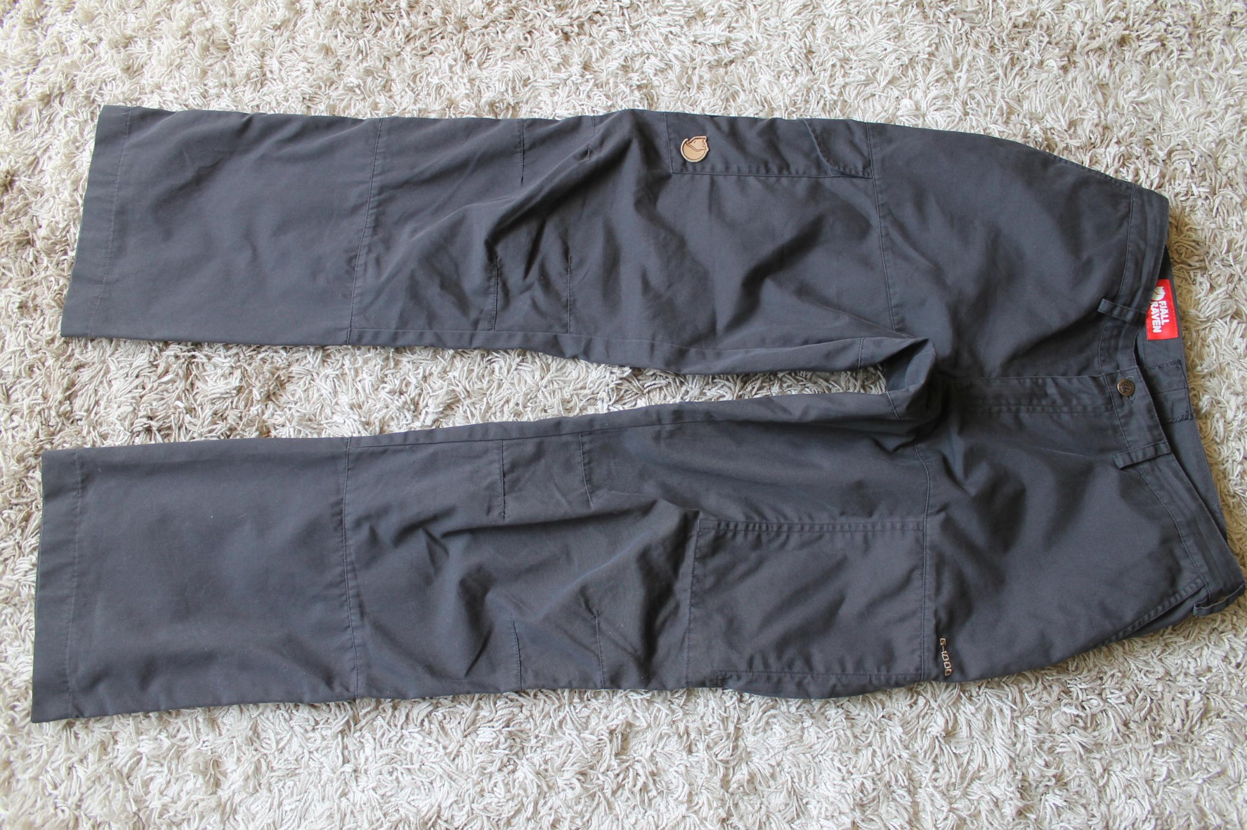 Spodnie trekkingowe FjallRaven G-1000 - 40 lady