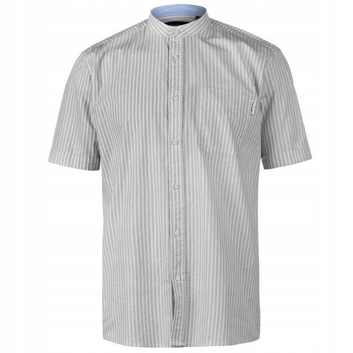 PIERRE CARDIN męska koszula ze stójką regular L