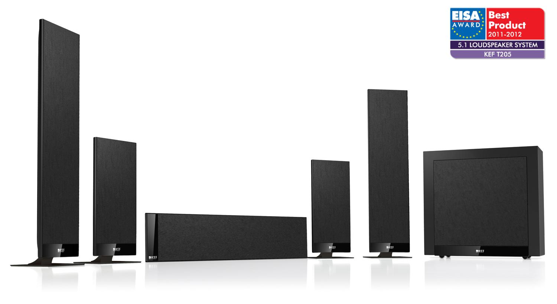 Kef T205 Black Ultimate Audio