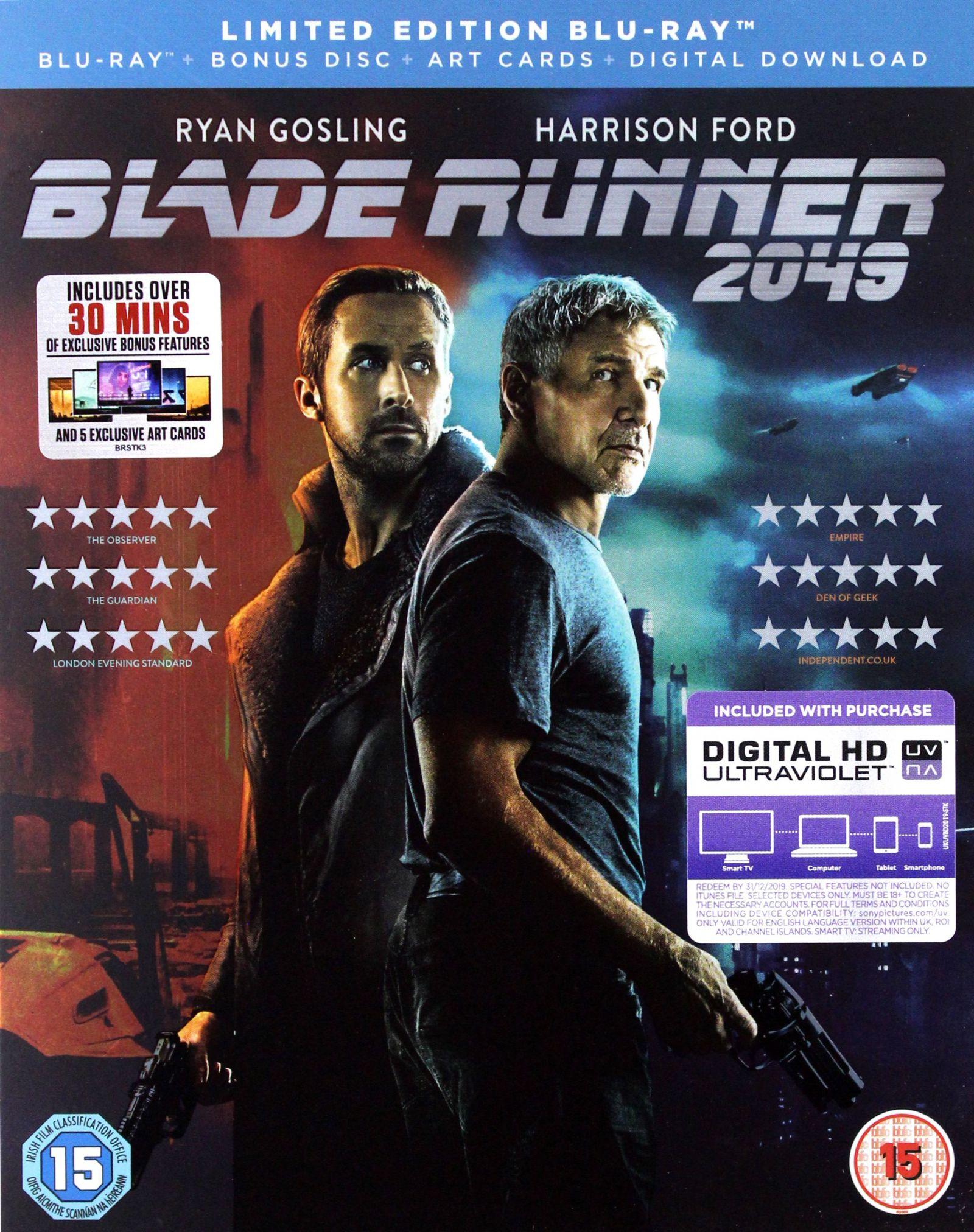 BLADE RUNNER 2049 (LIMITED EDITION) 2XBLU-RAY+KART