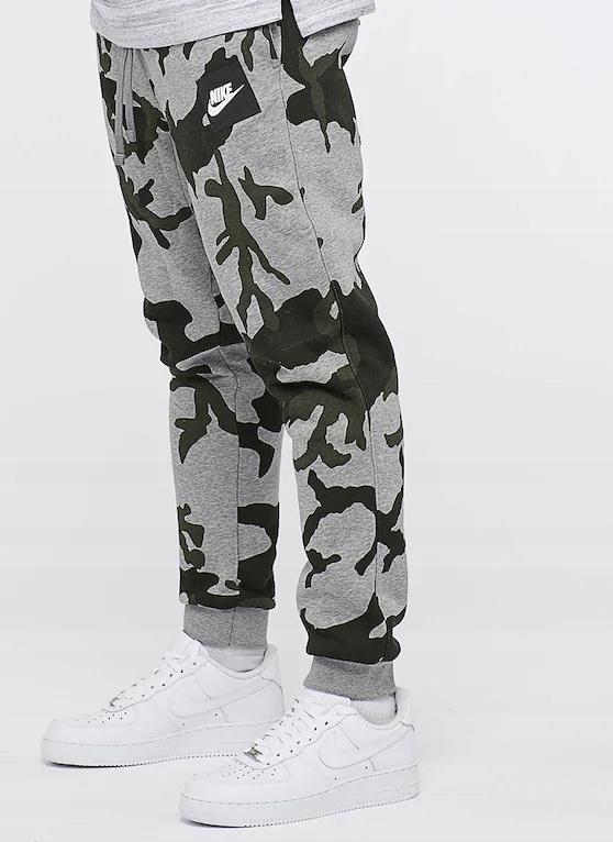 091af2756 NIKE Dres Kompletny Bluza+Spodnie Moro Jogger Tu L - 7743503470 ...