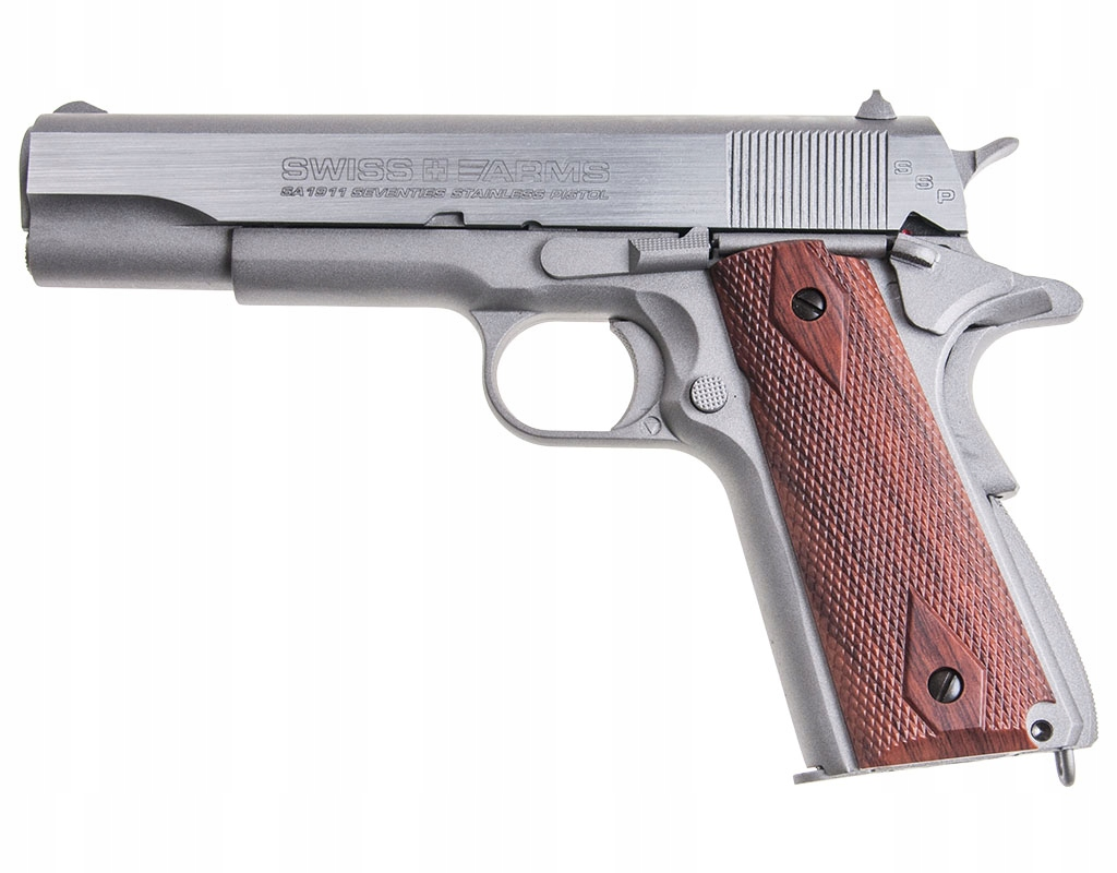 Wiatrówka Cybergun Swiss Arms SA1911 Blow Back 4,5