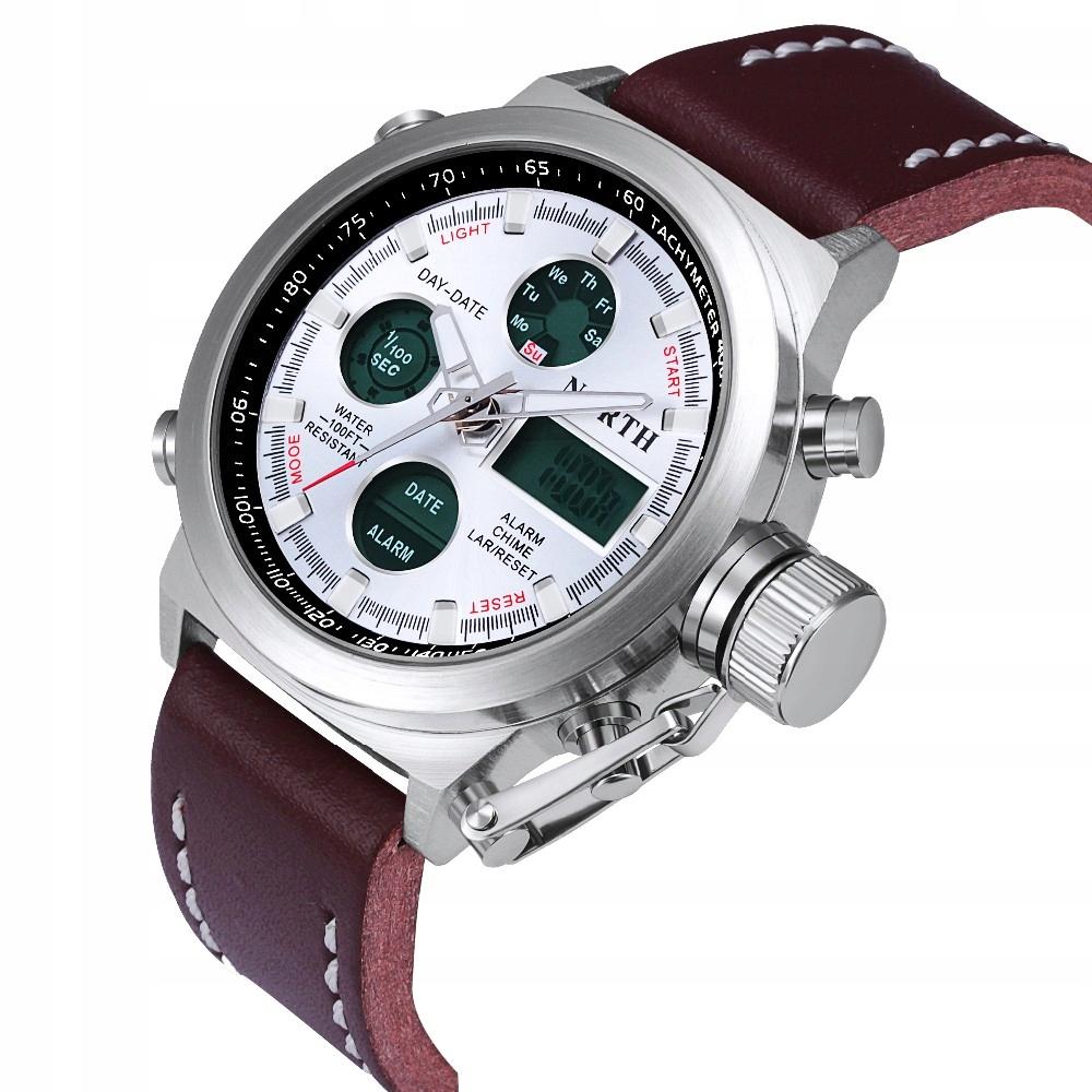 Sportowy Zegarek męski elektroniczny NORTH - 5 kol