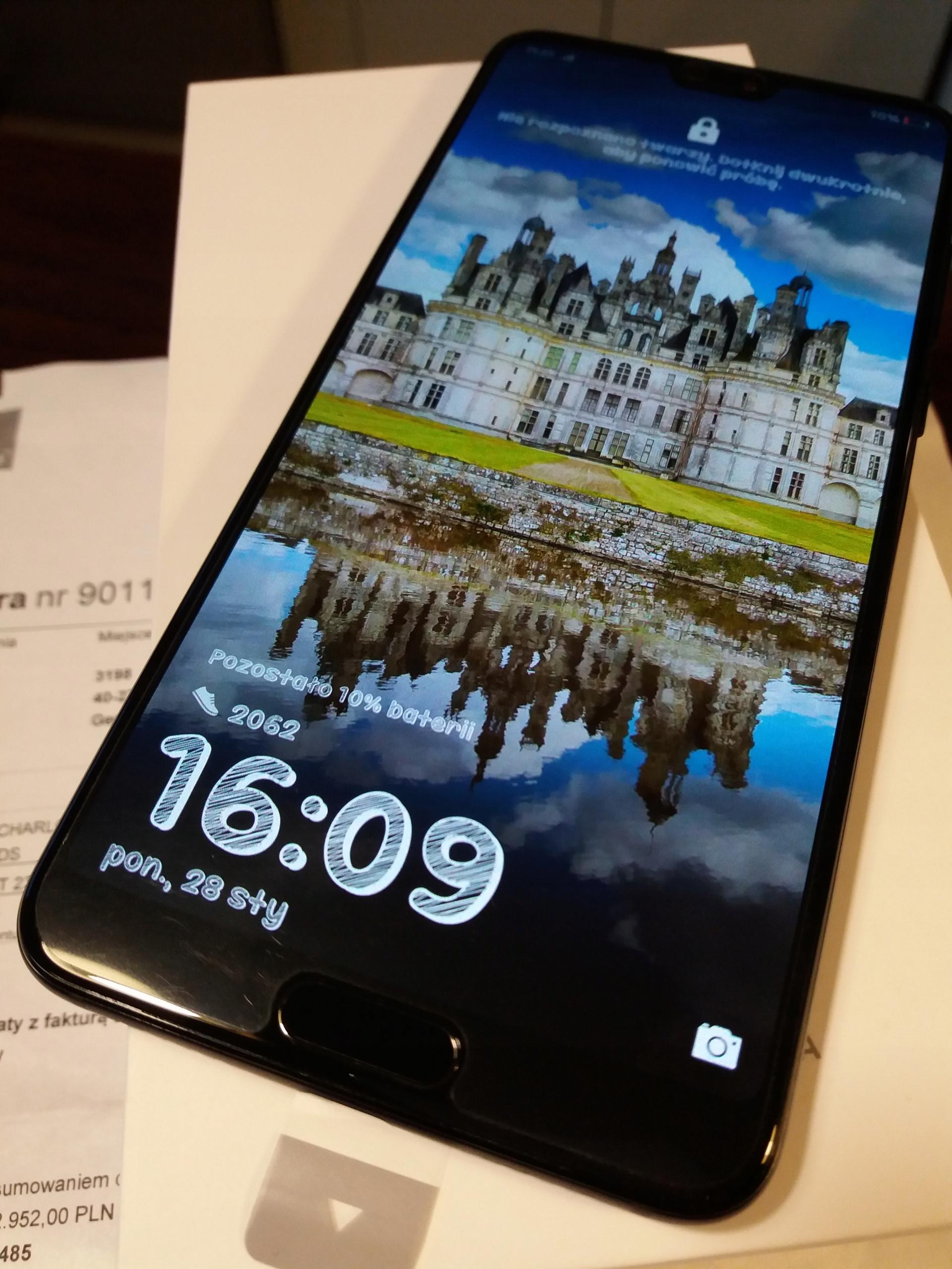 Jak nowy Huawei P20 Pro Black