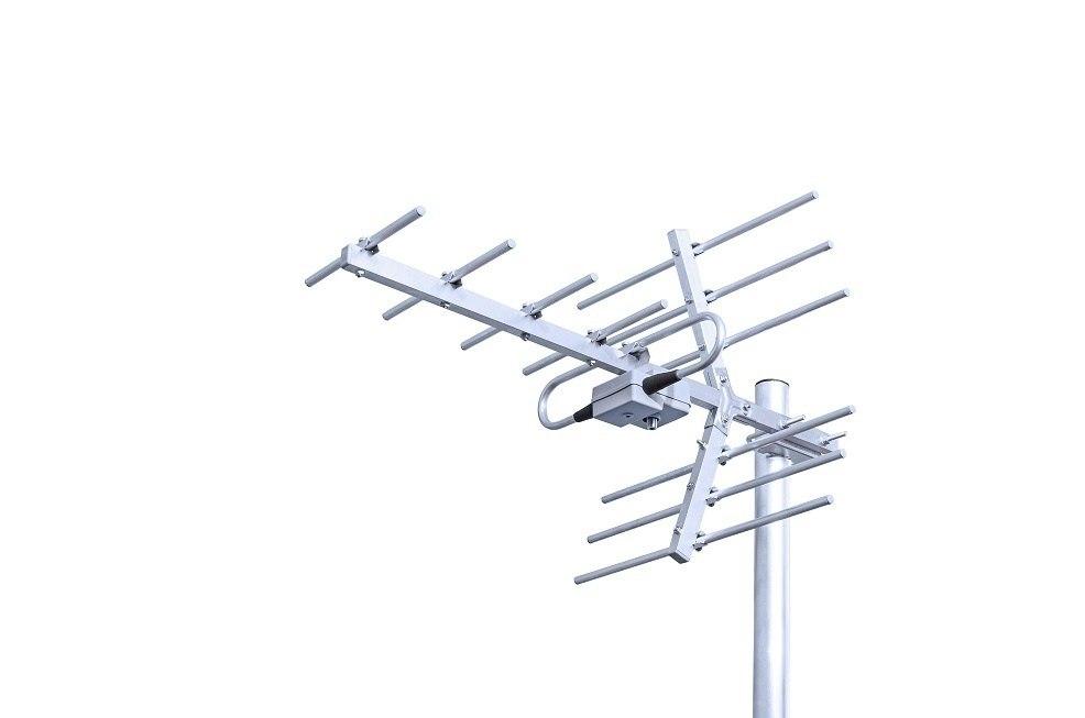 ANTENA TELEWIZYJNA DVB-T YAGI 11 21-69 WZMACNIACZ