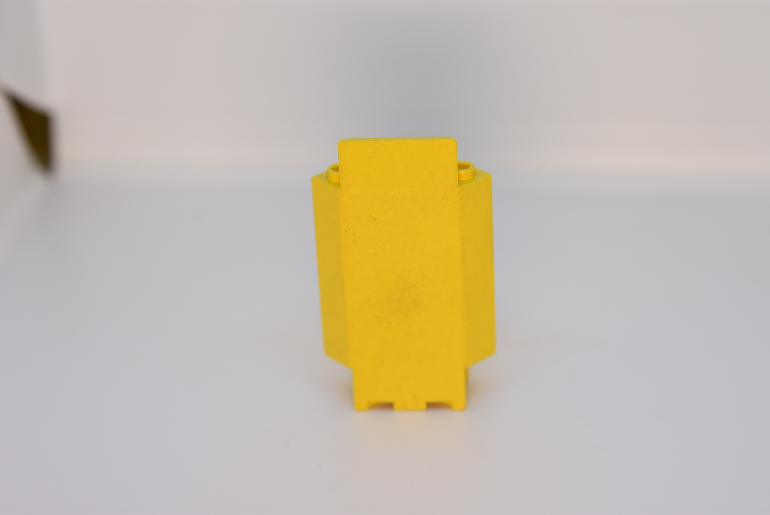 Lego mur ściana panel narożny 2345 żółty