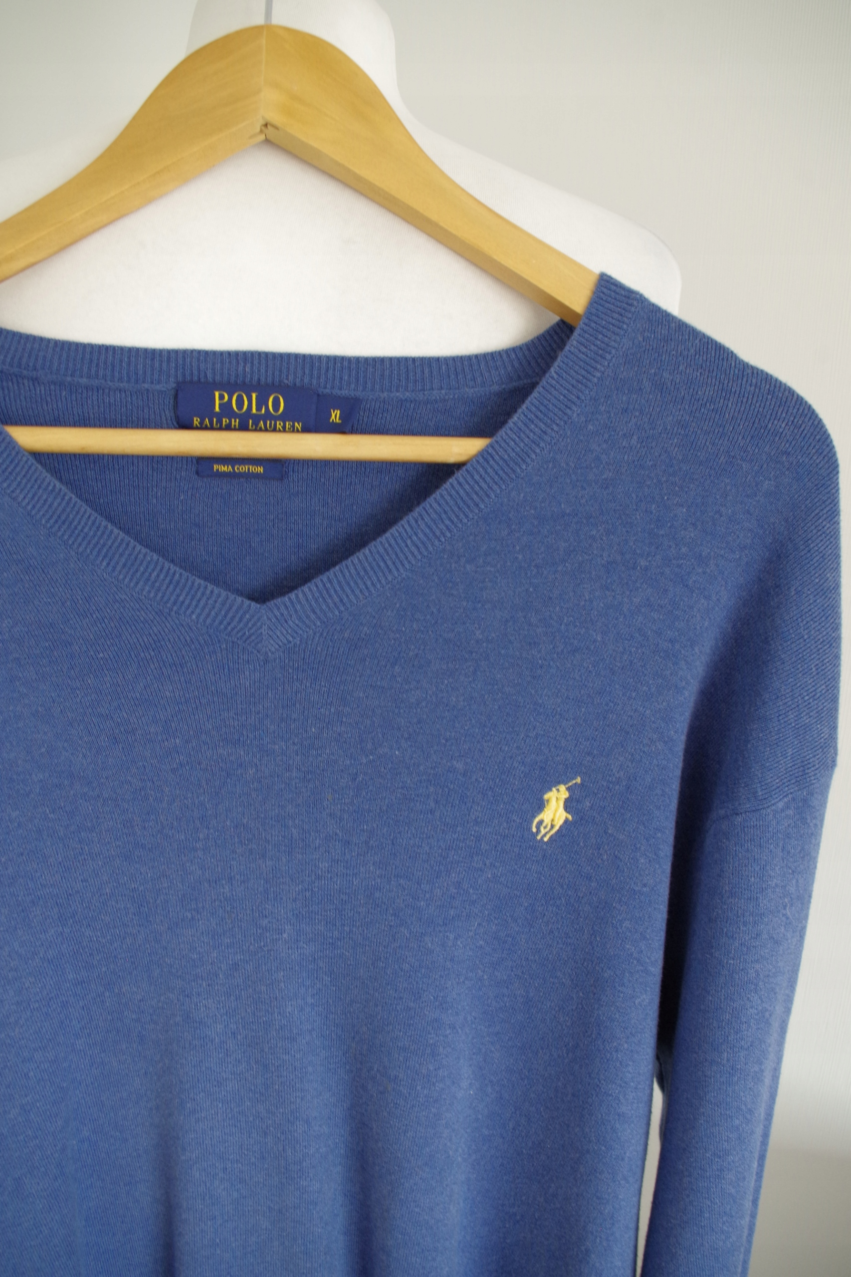 POLO RALPH LAUREN SWETER 100% PIMA COTTON