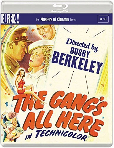 THE GANG'S ALL HERE (MASTERS OF CINEMA) (BLU-RAY)