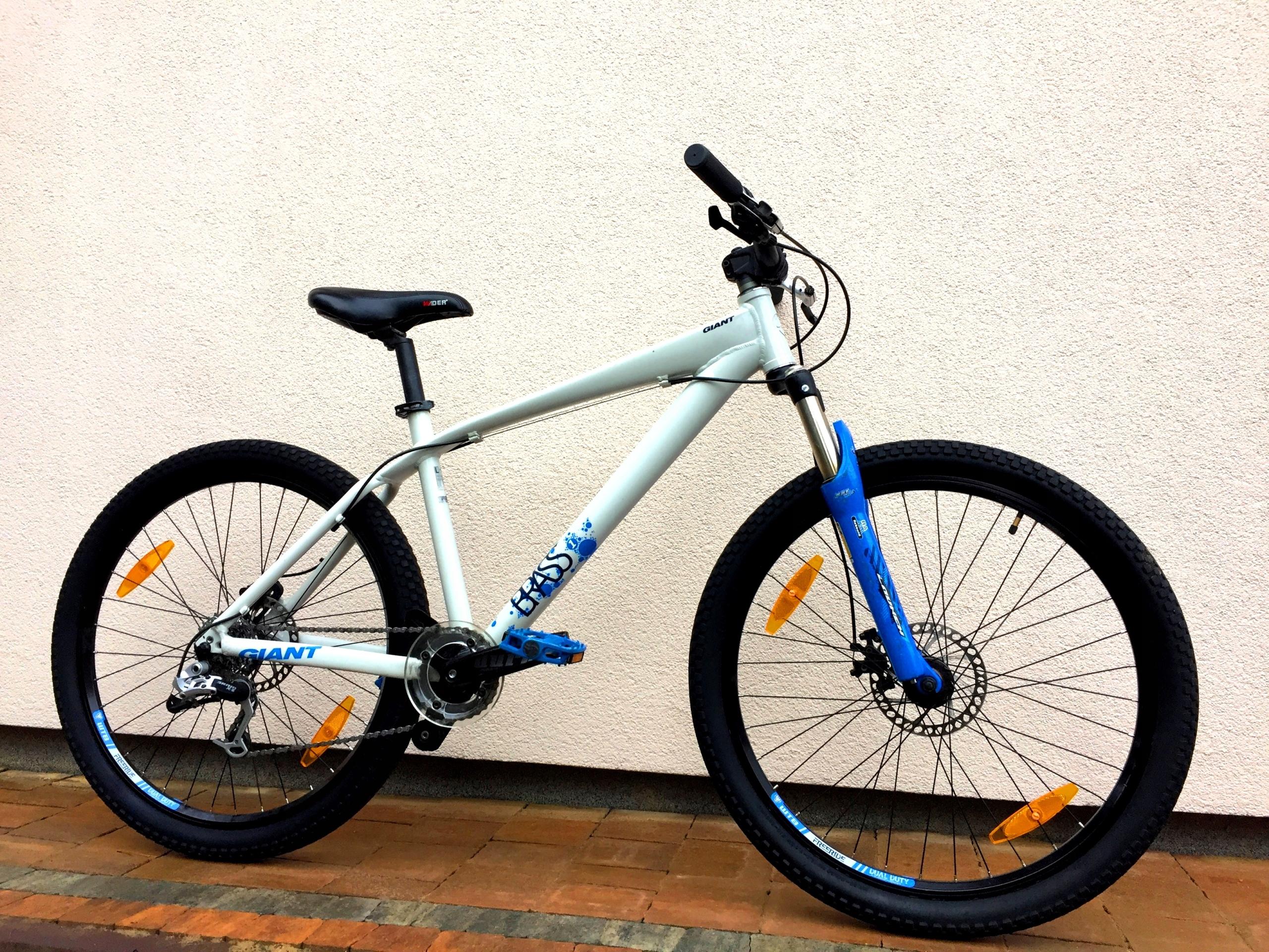 Rower GIANT BRASS MAŁO UŻYWANY Stunt MTB Shimano