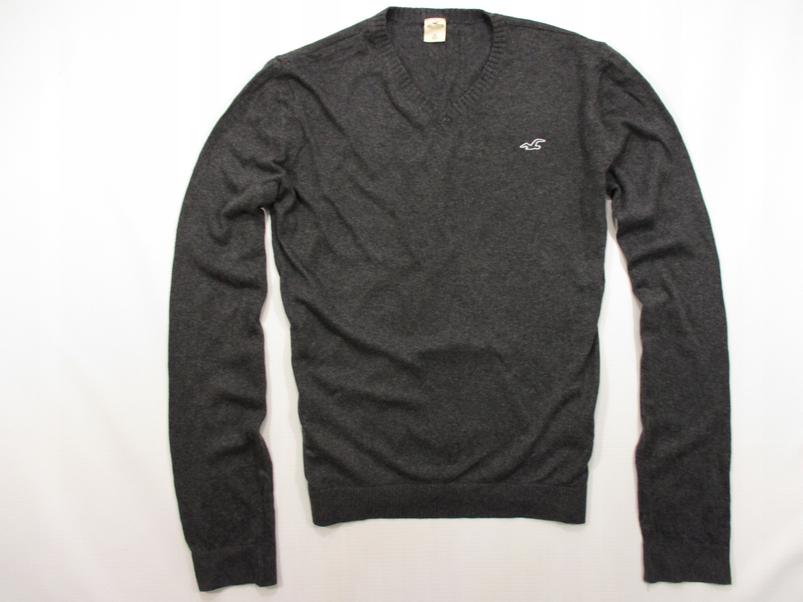 HOLLISTER BY ABERCROMBIE DELIKATNY SWETER XL
