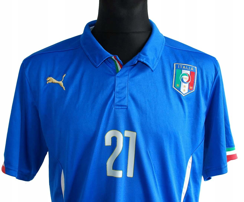 WŁOCHY Pirlo 21 koszulka piłkarska PUMA roz L
