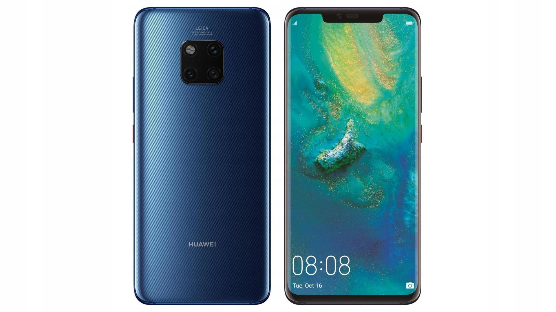 HUAWEI MATE 20 Pro BLUE Fv 23% Wys 24h Centrum